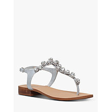 Buy Carvela Bebe 2 Sandals, Silver Leather Online at johnlewis.com