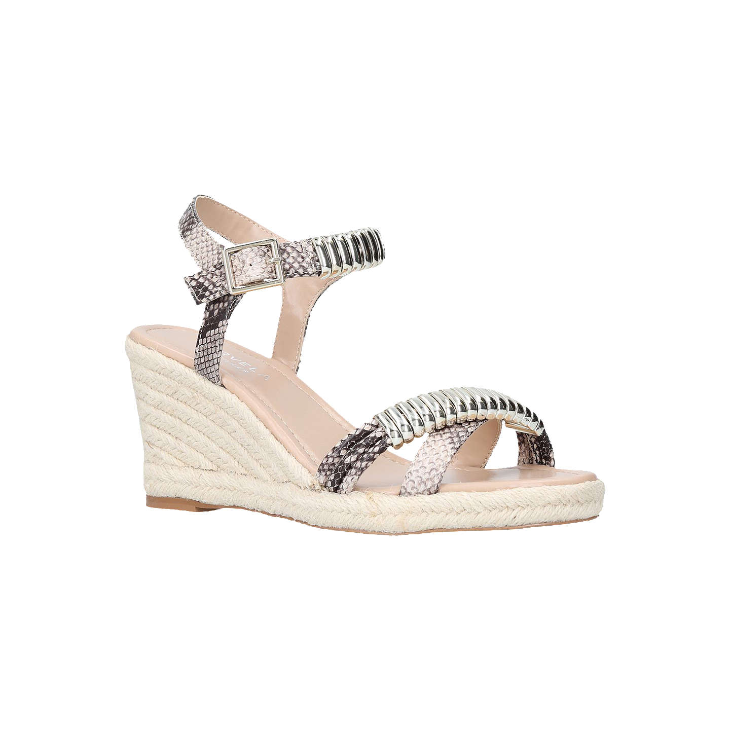 Carvela Slipper Wedge Heel Embellished Sandals, /Multi