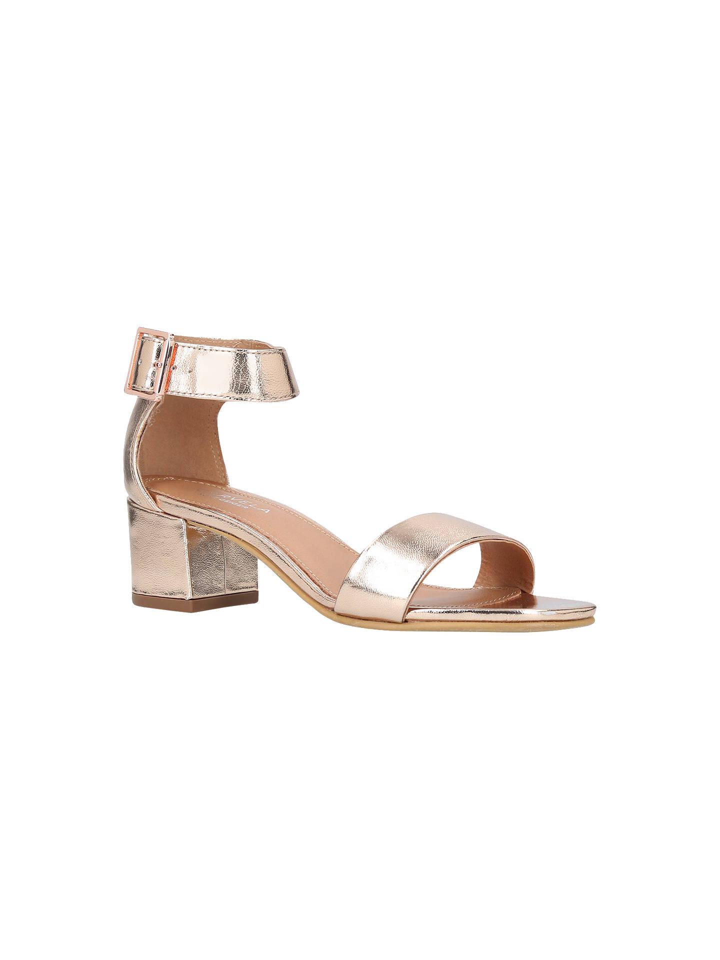 83395ba4273 Carvela Shadow Block Heeled Sandals at John Lewis   Partners