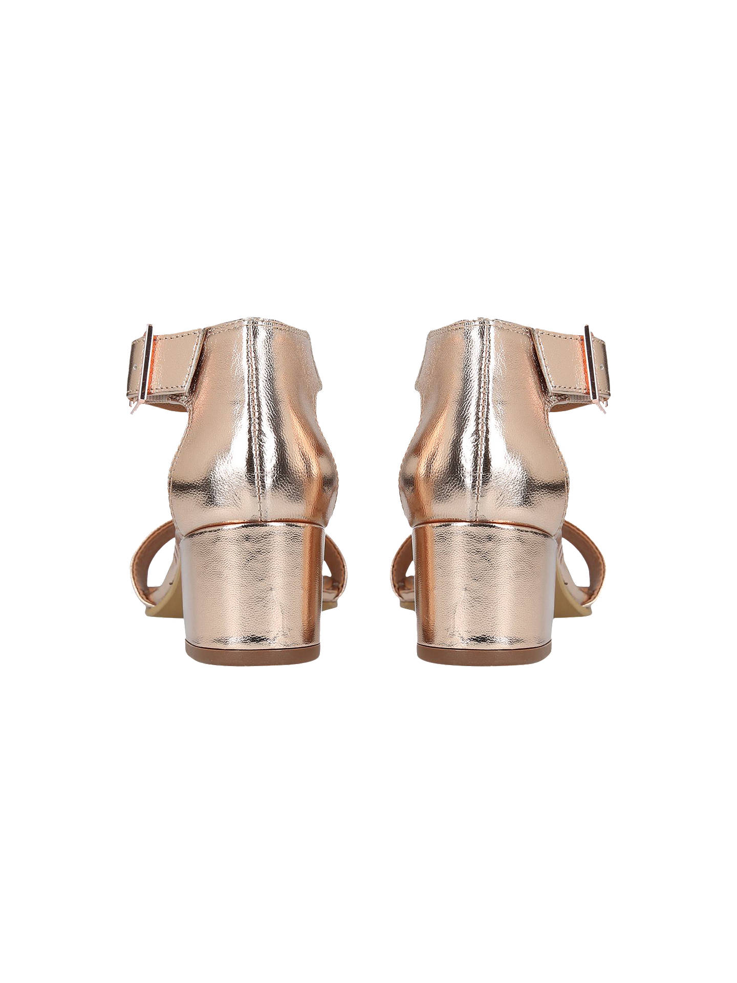 a9cd9684ce8b Carvela Shadow Block Heeled Sandals at John Lewis   Partners