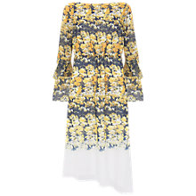 Buy Mint Velvet Bianca Print Midi Dress, Multi Online at johnlewis.com