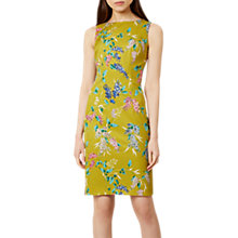 Buy Hobbs Moira Dress, Chartreuse Online at johnlewis.com