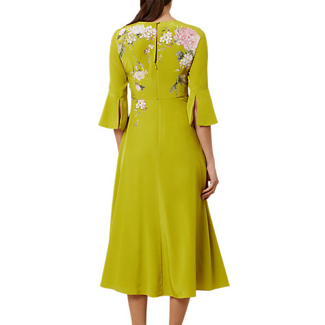 Buy Hobbs Sadie Dress, Chartreuse Online at johnlewis.com