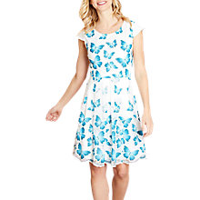 Buy Yumi Butterfly Skater Dress, Multi Online at johnlewis.com