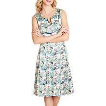 Buy Yumi Tropical Bird Print Dress, Multi Online at johnlewis.com