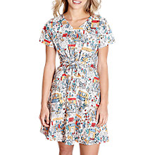 Buy Yumi Traveller Print Dress, Multi Online at johnlewis.com