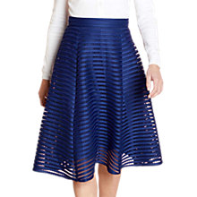 Buy Yumi Fishnet Skirt, Navy Online at johnlewis.com
