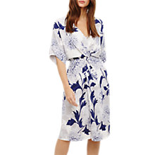 Buy Phase Eight April Floral Twist Front Dress, Multi Online at johnlewis.com