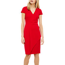 Buy Phase Eight Adrianna Asymmetric Dress, Red Online at johnlewis.com