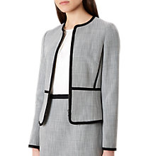 Buy Hobbs Adalyn Jacket, Silver/Grey Online at johnlewis.com