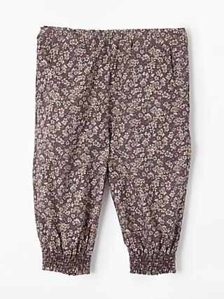 Wheat Baby Sara Loose Fit Trousers, Plum