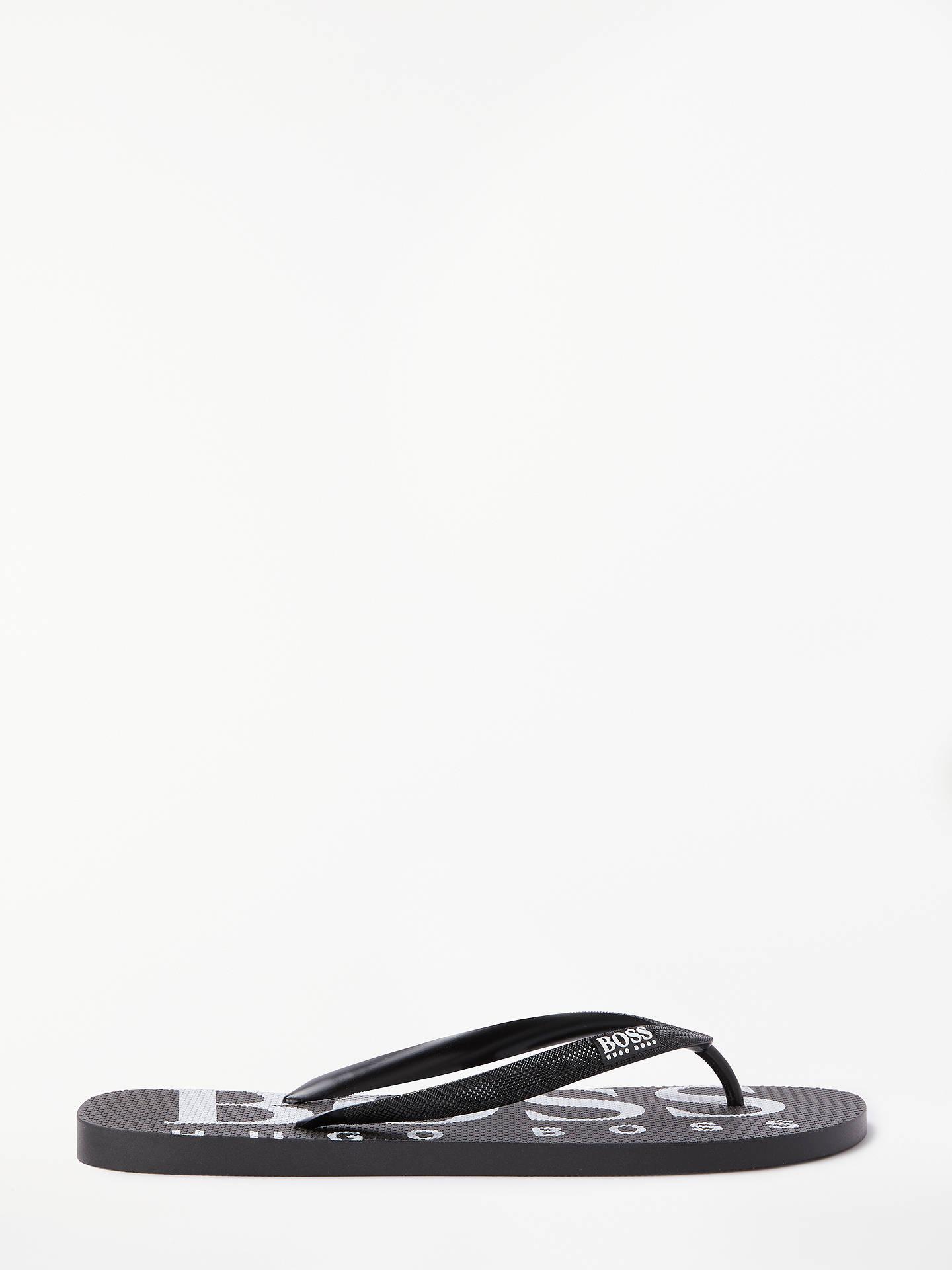 9c2b6842ef921 Buy BOSS Wave Contrast Logo Rubber Flip Flops