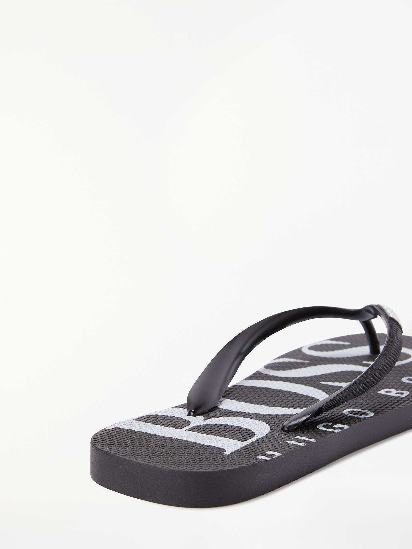 f1e29f2ff Buy BOSS Wave Contrast Logo Rubber Flip Flops