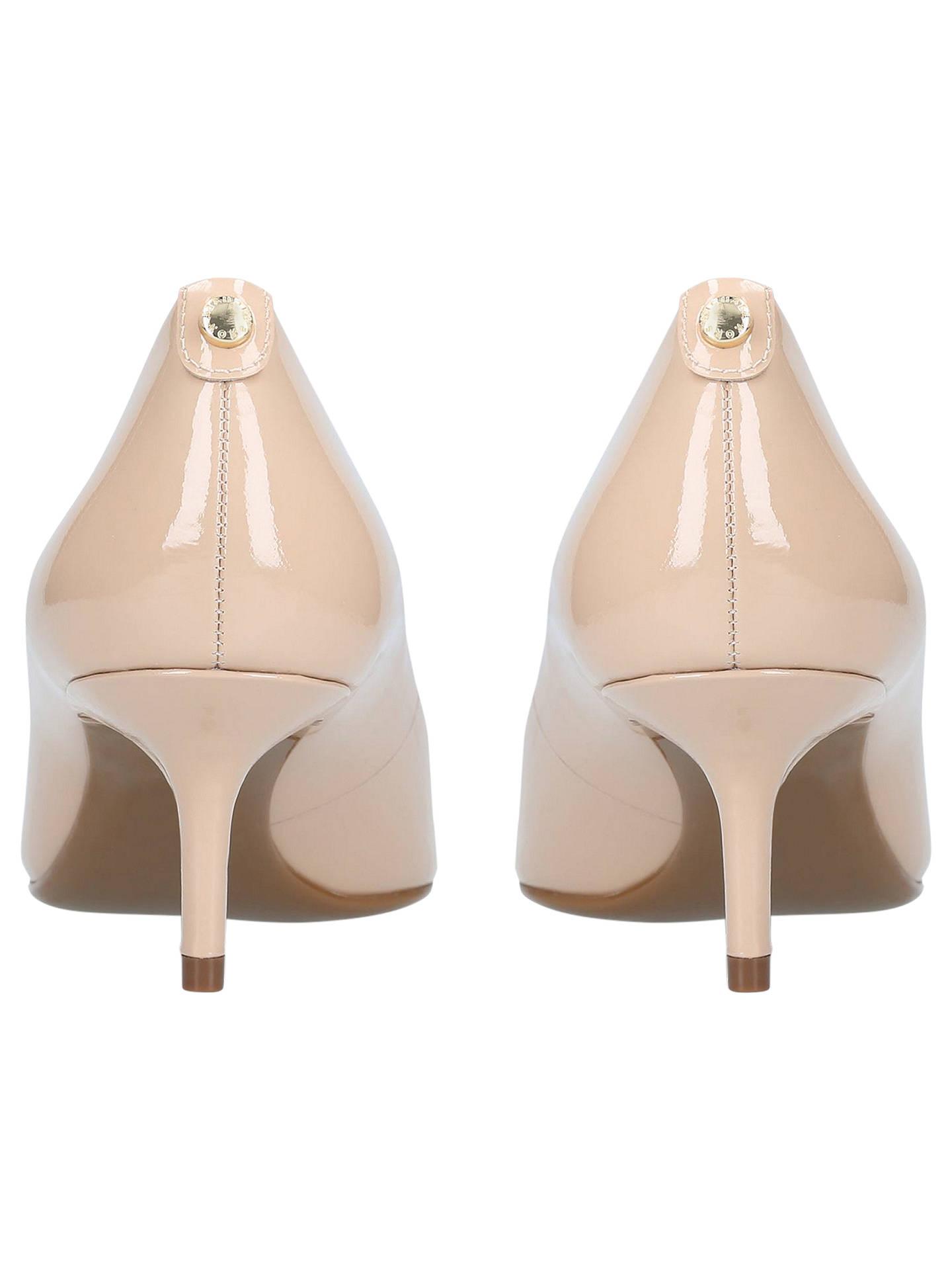5c5f0735159 MICHAEL Michael Kors Flex Kitten Heeled Court Shoes, Pink at John ...