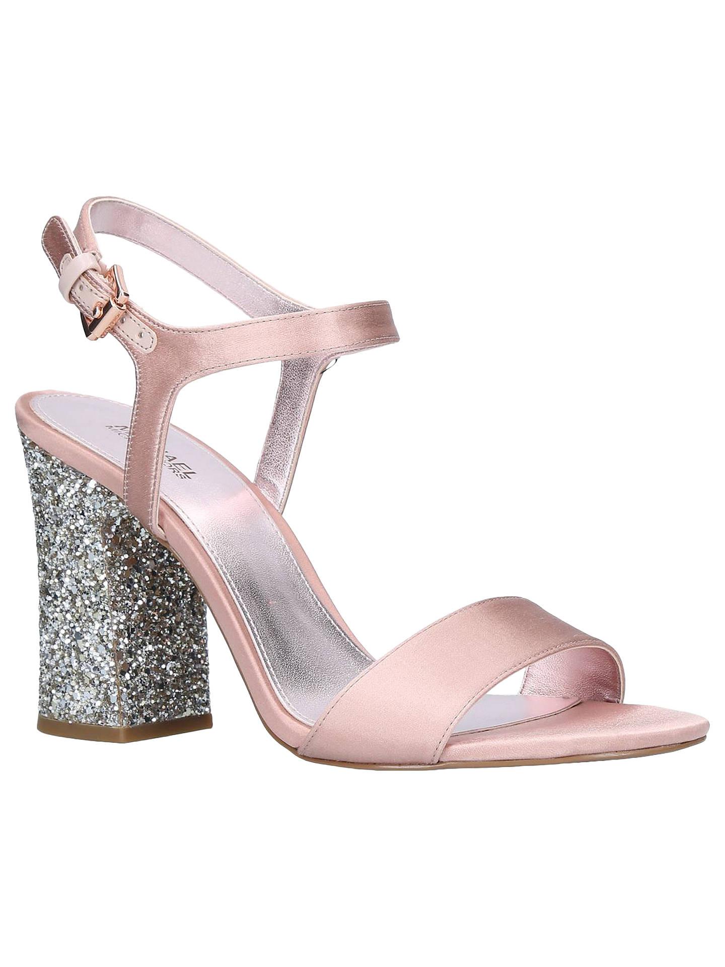 b425b24cb Buy MICHAEL Michael Kors Tori Block Heel Sandals, Pale Pink, 3 Online at  johnlewis ...