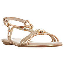 Buy Dune Novaa Rope Detail Sandals Online at johnlewis.com