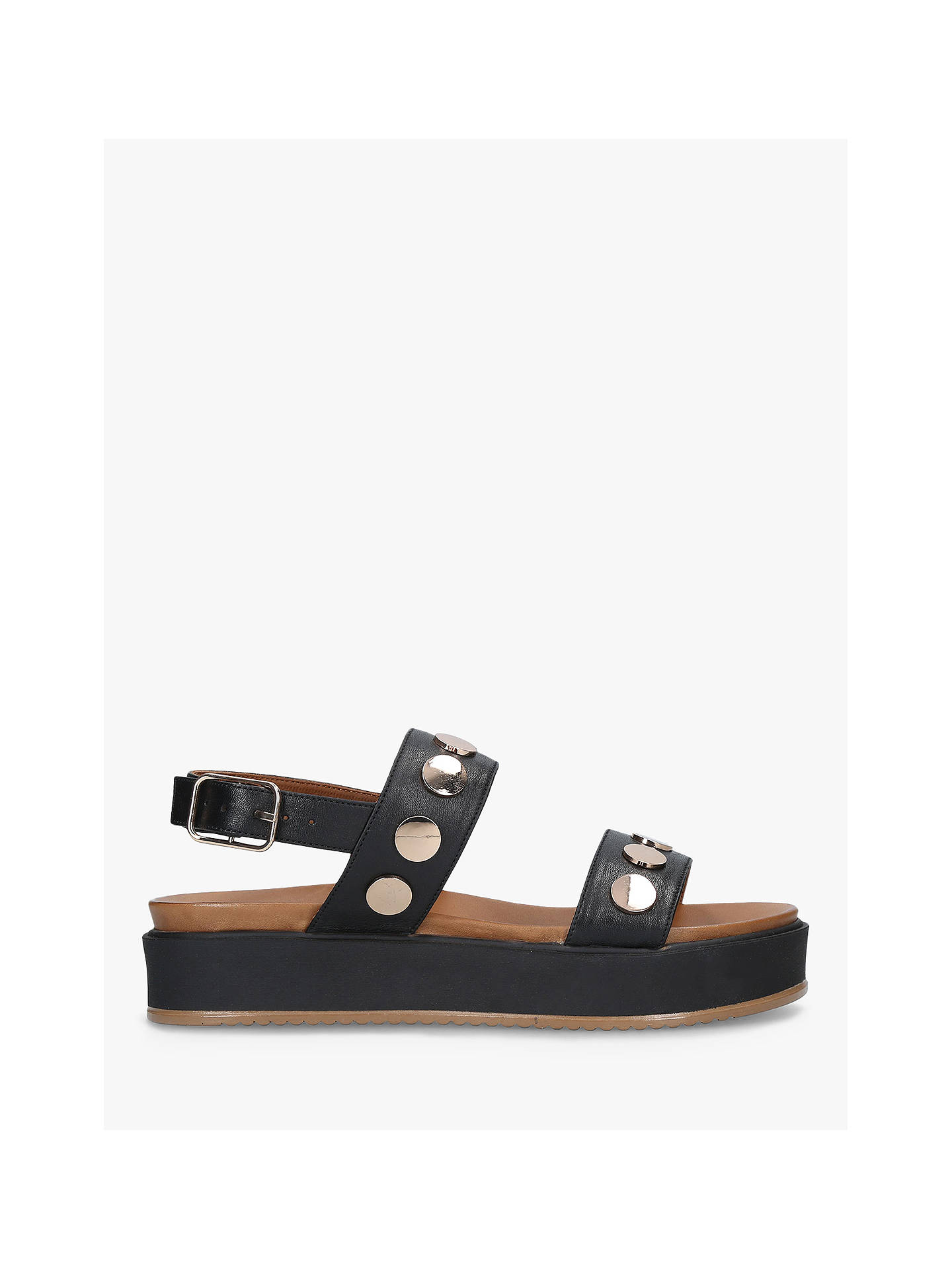 4b2d28efc29 Kurt Geiger London Makenna Flatform Sandals at John Lewis   Partners