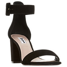 Buy Dune Mirror Block Sandals Online at johnlewis.com