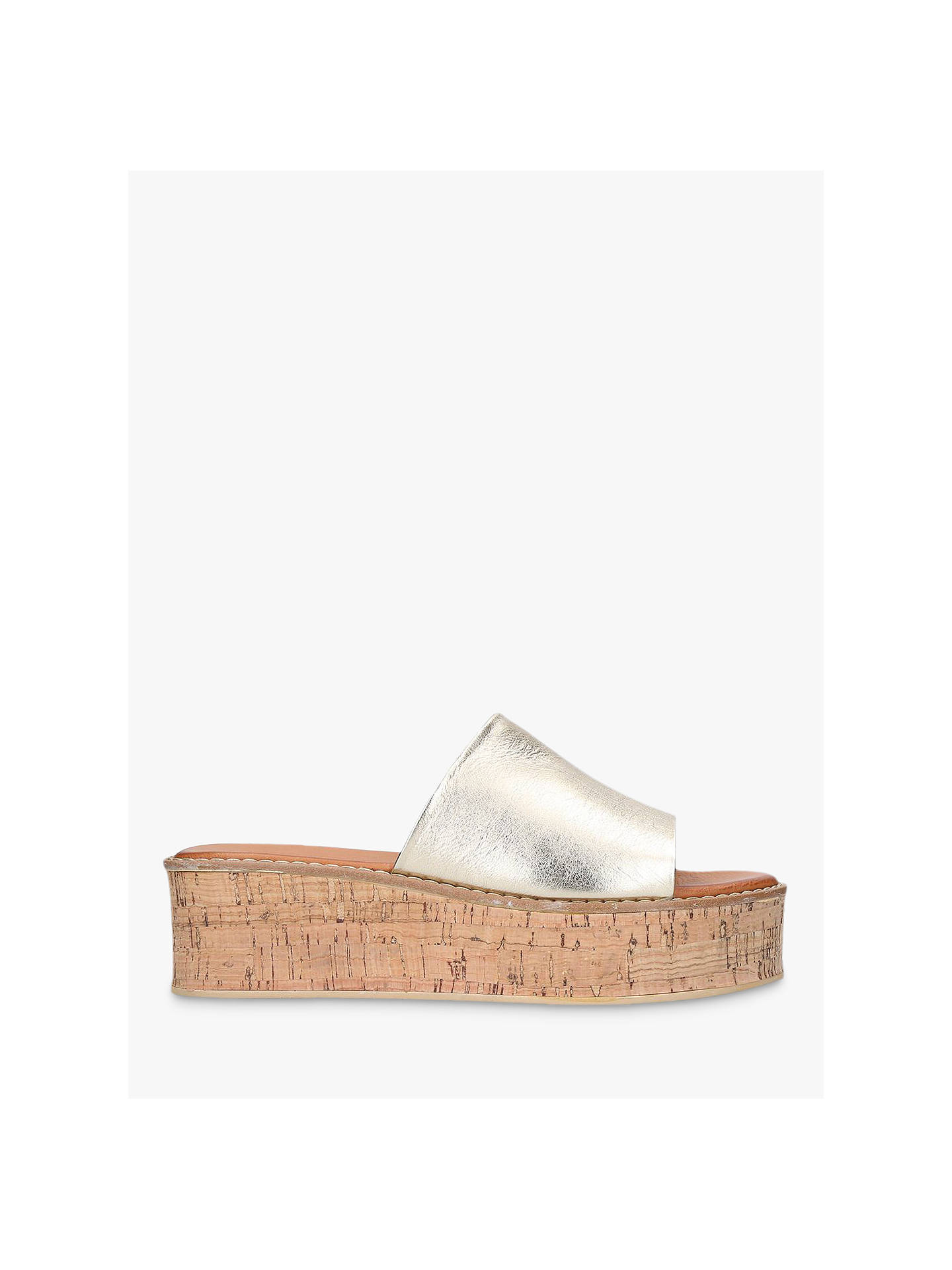 02e05bf567e Kurt Geiger London Maci Flatform Sandals at John Lewis   Partners