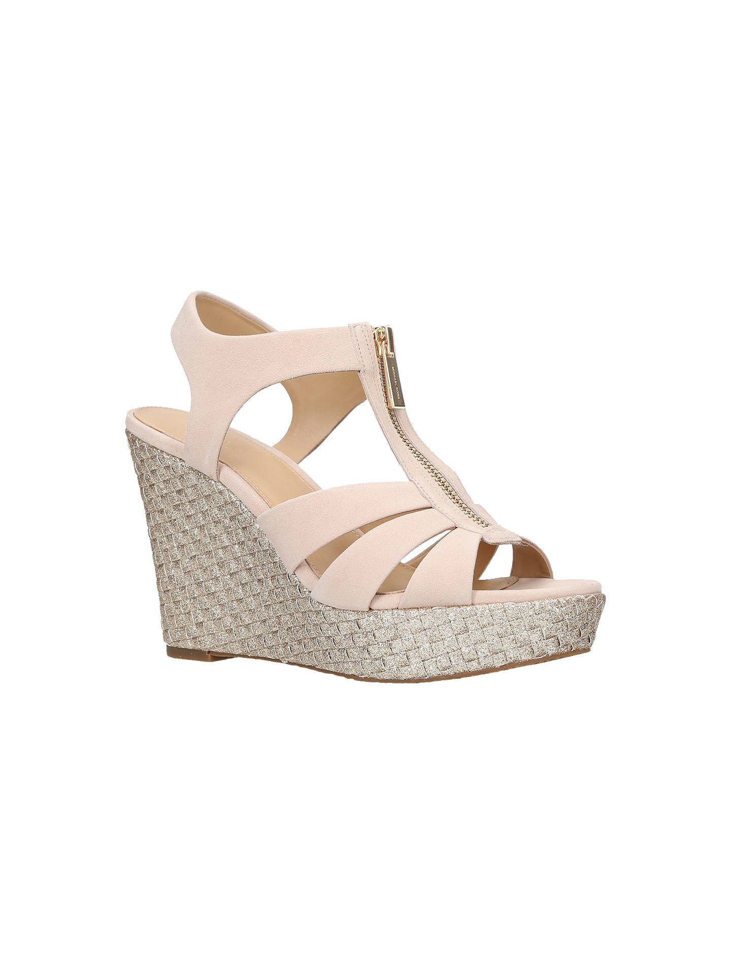 3332a0ac7d5b Buy MICHAEL Michael Kors Berkley Zip Front Wedge Heel Sandals