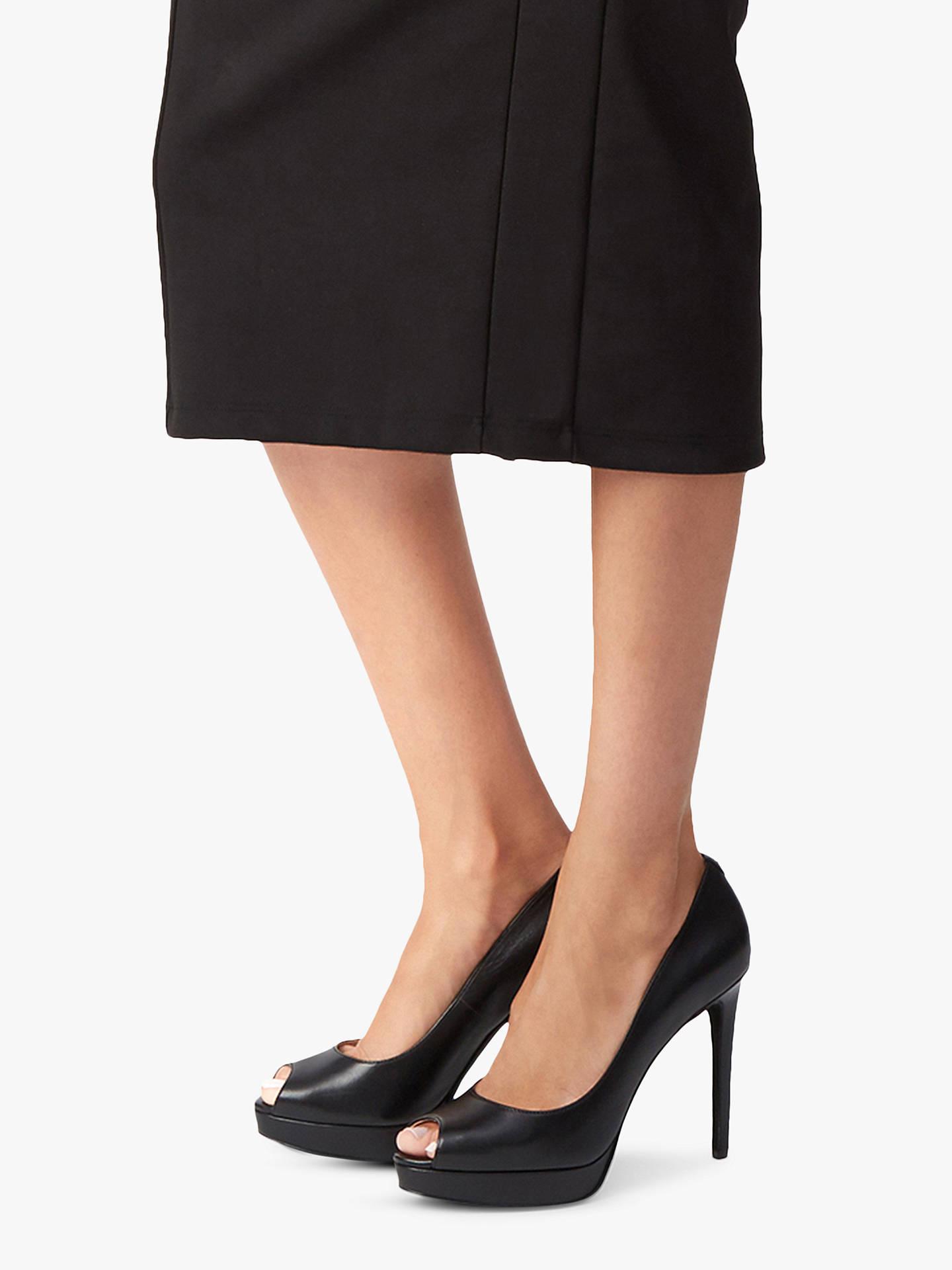 b4c057c442b5 MICHAEL Michael Kors Erika Peep Toe Stiletto Heel Sandals at John ...