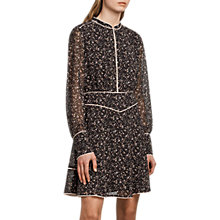 Buy AllSaints Kay Pepper Dress, Black Online at johnlewis.com