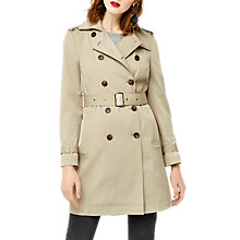 Buy Warehouse Classic Trench Coat, Beige Online at johnlewis.com