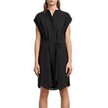 Buy AllSaints Meda Textured Shirt Dress Online at johnlewis.com