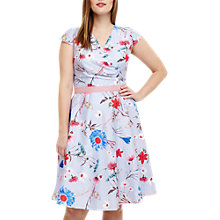 Buy Studio 8 Millicent Floral Dress, Blue/Multi Online at johnlewis.com
