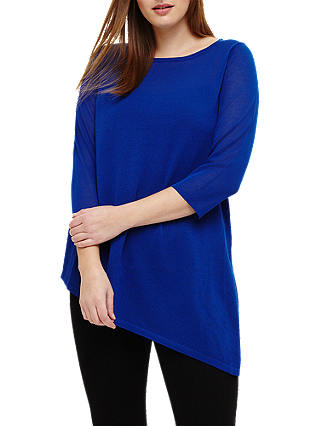 Buy Studio 8 Clancy Knit Top, Blue, 12 Online at johnlewis.com