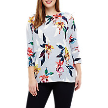 Buy Studio 8 Laurenza Floral Jumper, Blue/Multi Online at johnlewis.com