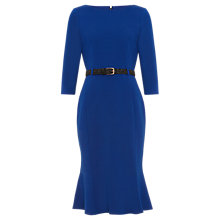 Buy Damsel in a Dress Hawthorne Belted Ponte Dress, Colbalt Online at johnlewis.com