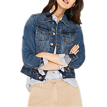 Buy Oasis Betty Demin Jacket, Blue Online at johnlewis.com