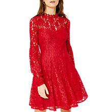 Buy Warehouse Lace Skater Dress Online at johnlewis.com