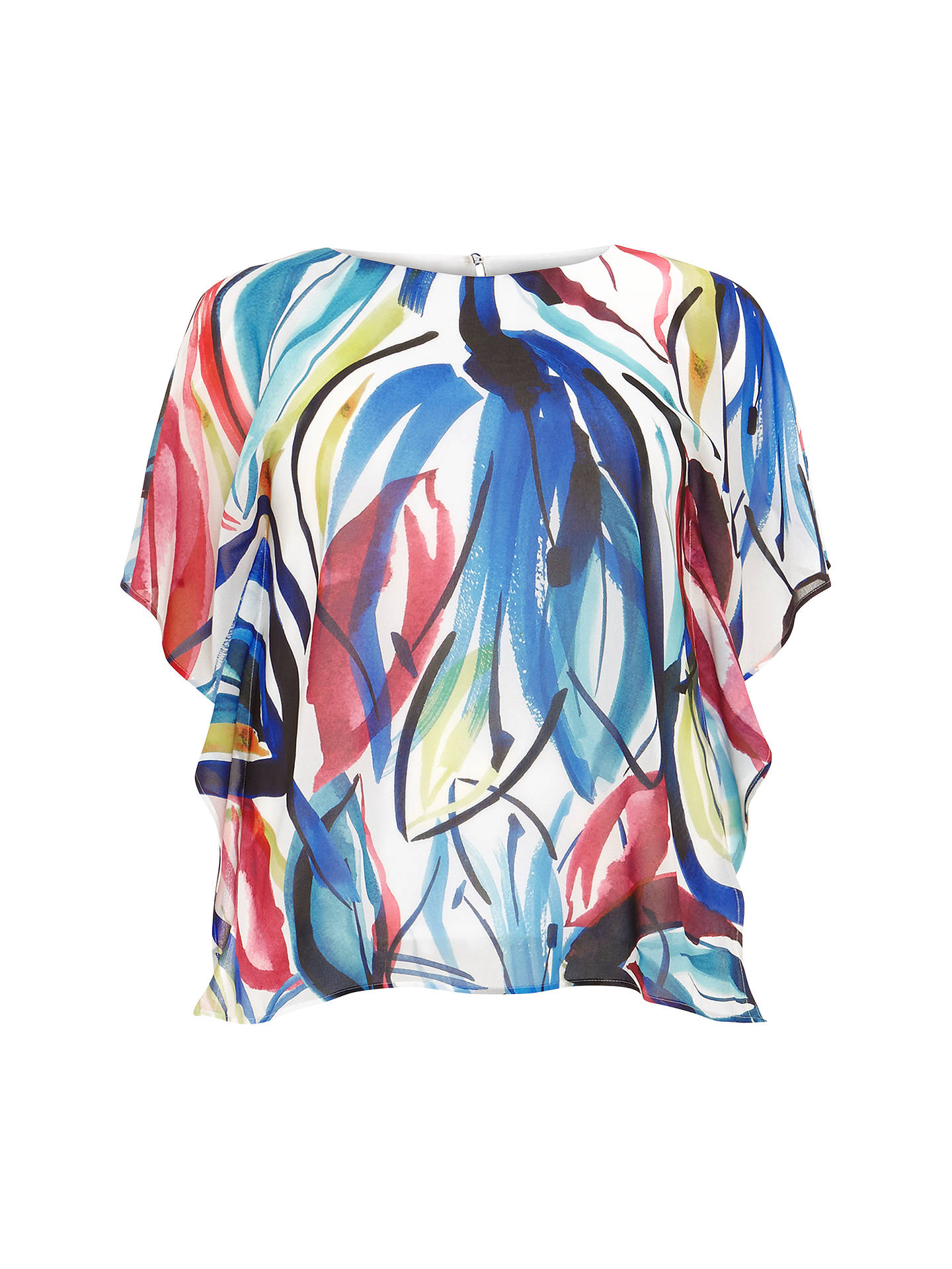 BuyStudio 8 Diana Print Top, Multi, 12 Online at johnlewis.com