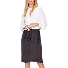 Buy Damsel in a Dress Selma Slinky Skirt, Charcoal Online at johnlewis.com