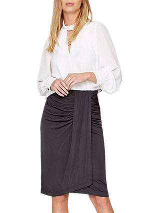 Damsel in a Dress Selma Slinky Skirt, Charcoal
