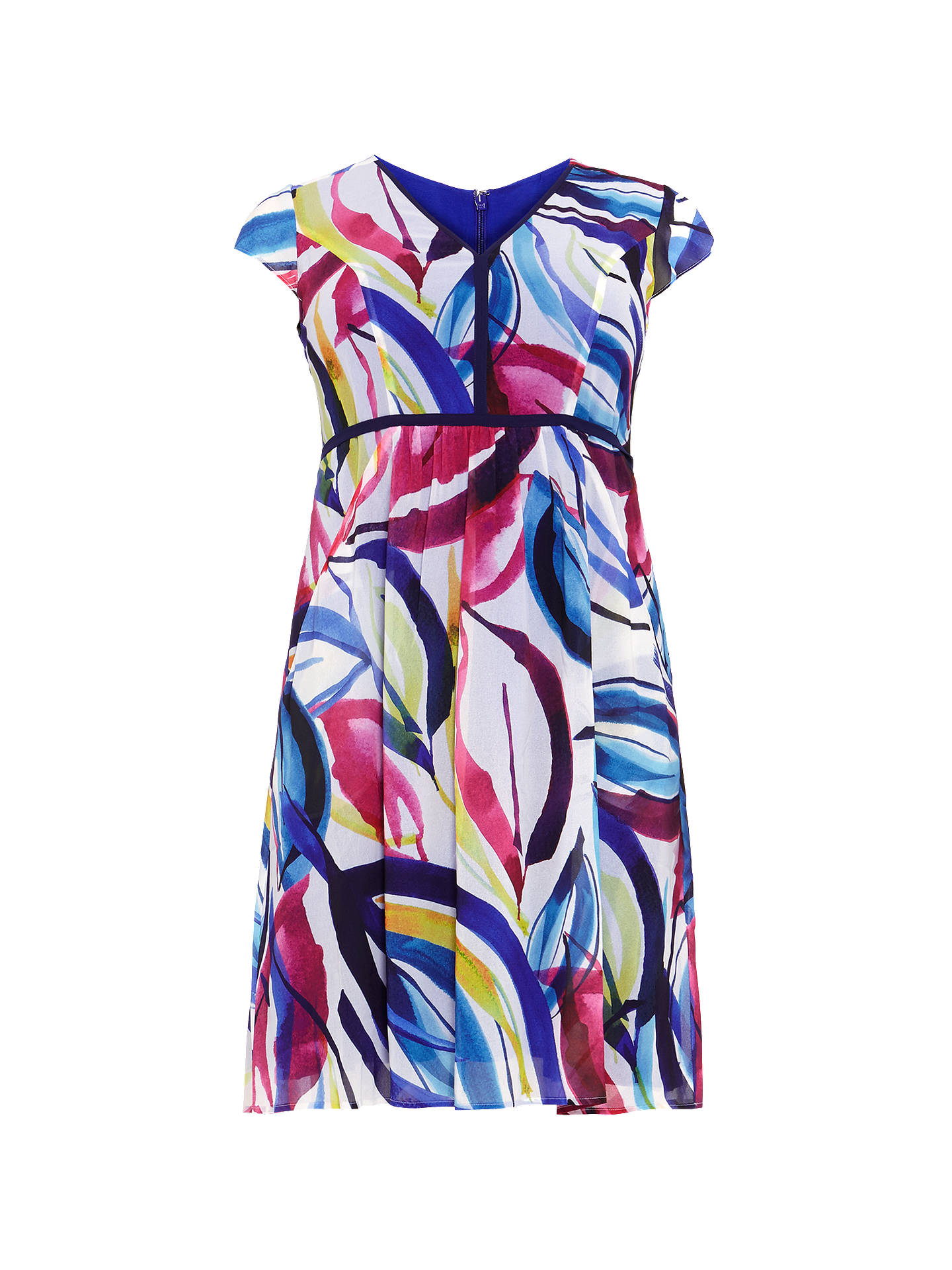 BuyStudio 8 Sienna Print Dress, Multi, 14 Online at johnlewis.com