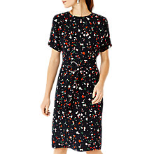 Buy Warehouse Barbican Granite Printed Dress, Multi Online at johnlewis.com