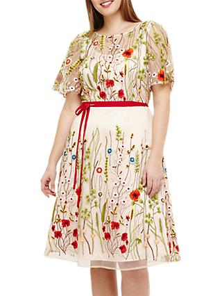 Studio 8 Richmond Embroidered Dress, Multi