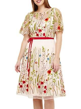 Studio 8 Richmond Embroidered Dress, Multi