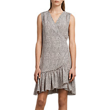 Buy AllSaints Rene Leodot Silk Dress, Pale Pink Online at johnlewis.com