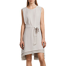 Buy AllSaints Nyla Dress, Oyster White Online at johnlewis.com