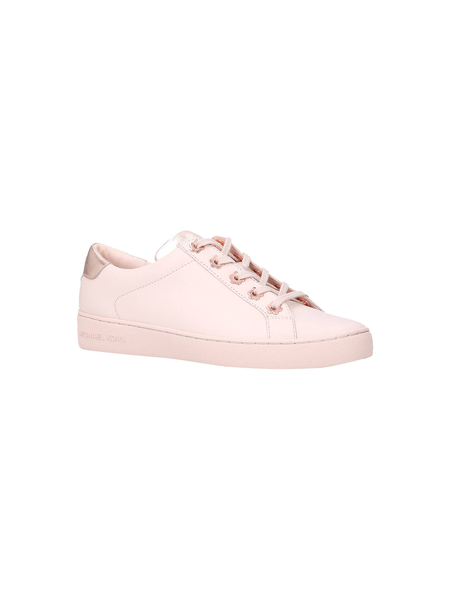 f21b1e876468 Buy MICHAEL Michael Kors Irving Flower Trainers, Pale Pink Leather, 3  Online at johnlewis ...