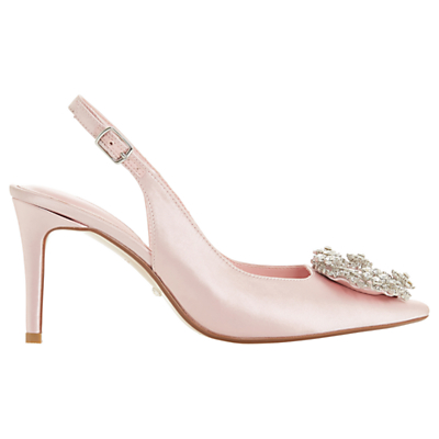 7c6422acc836 Dune Bridal Collection Ceremony Wreath Brooch Slingback Court Shoes ...