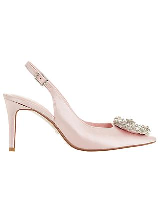 Dune Bridal Collection Ceremony Wreath Brooch Slingback Court Shoes