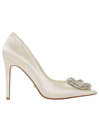 Dune Bridal Collection Blesing Wreath Brooch Court Shoes