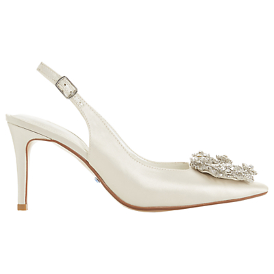 36496adb1eb5 Dune Bridal Collection Ceremony Wreath Brooch Slingback Court Shoes - John  Lewis   Partners at Westquay - Shop Online