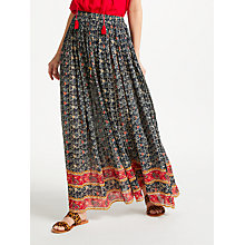 Buy Star Mela Bela Print Skirt, Indigo Online at johnlewis.com