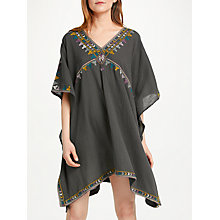 Buy Star Mela Dea Kaftan, Charcoal/Multi Online at johnlewis.com